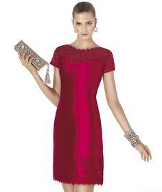 Pronovias presents the ABIEL cocktail dress from the Cocktail 2015 collection | Pronovias