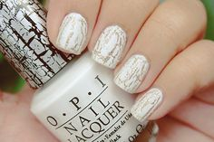 30 Best Crackle Nails Images On Pinterest Crackle Nails Nail