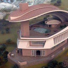 Unique Architecture - I don't know how else to explain it.