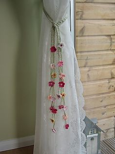 Crochet for Curtains - Crochet Amarra Cortinas