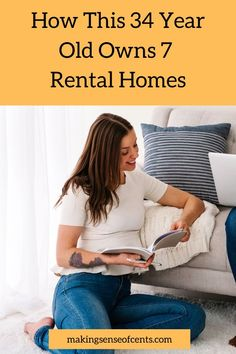 Rental homes are on the rise. With platforms like AirBnB and VRBO, managing rental homes can become a full time income. Learn about how this 34 year old owns and rents 7 homes. Rental Homes, Debt Free Living, Starting Your Own Business, Investing Money, Work From Home Moms, Make More Money, Being A Landlord, Social Media Tips, Year Old