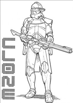 star wars pictures to color | Star Wars The Clone Wars Coloring ...