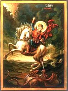 Oración a San Jorge http://oracionescatolicasymas.blogspot.mx/2014/02/oracion-san-jorge.html