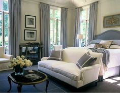 the best sofa to buy | laurel bern's #1 pick! | decorating help in NY | fabulous bedroom by Suzanne Kasler