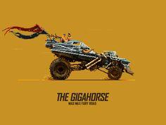 MAD MAX Fury Road — The Gigahorse by Misha Petrick