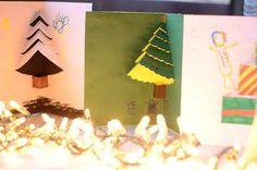 DIY d'une carte de Noël pop up à réaliser avec les enfants
