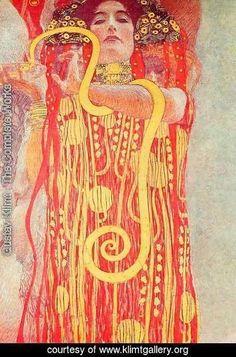 Gustav Klimt - Medicine (Hygieia)