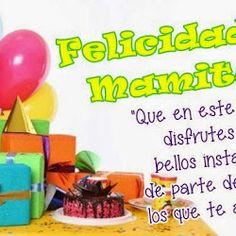 Happy Birthday to You, Felicidades - ツ Imagenes para Cumpleaños ツ Spanish Birthday Wishes, Happy Birthday Mom, Happy Birthday Candles, Happy Birthday Images, Birthday Messages, Happy Mothers Day, Google, Quotes, Anime