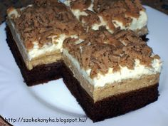 Poppy Cake, Winter Food, Tiramisu, Food And Drink, Snacks, Baking, Ethnic Recipes, Diet, Hungarian Recipes