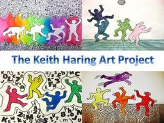 The Keith Haring Art Project Third Grade Art, Keith Haring Art, Artist Project, Art Worksheets, School Art Projects, Middle School Art, Art Classroom, Art Plastique, Teaching Art
