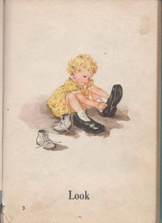 Sally from Dick & Jane reader.