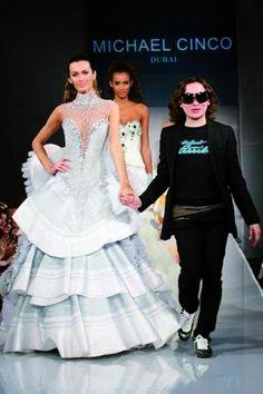 our very own Michael Cinco,  haute couture designer par excellence. Proud cousin here...<3
