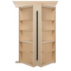 High Quality The Maple Surface Mount By Murphy Door Is Not Your Standard Bookshelf. Why  Settle For The Boring When You Can Have A Beautiful And Functional  Bifolding ...