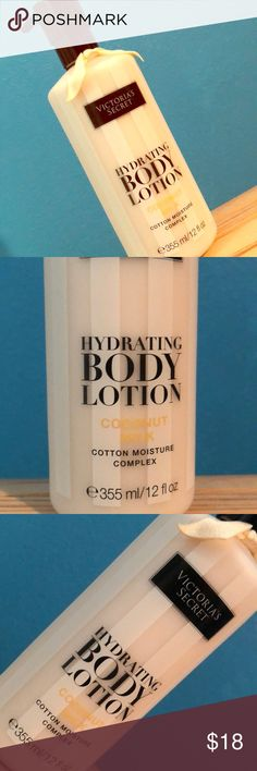 Victoria secret hydrating body lotion coconut milk Brand new, Victoria secret hydrating body lotion coconut milk. 12 fl. Victoria's Secret Makeup