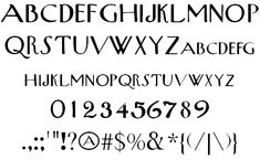 Image for New Yorker font