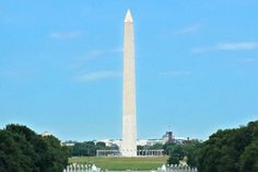The Washington Monument dominates the United States Capital skyline as a symbolic tribute to George Washington's military leadership, humble statesmanship, and Presidential fortitude and wisdom. Constructed from marble, granite and gneiss, the Monument is the world's tallest free-standing stone structure, towering more than 555 feet (169 meters).