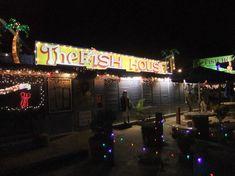 FISH HOUSE, KEY LARGO Old Florida, Florida Keys, Fish House Key Largo, Menu Restaurant, Restaurant Design, Key Largo Restaurants, Key Largo Florida, Seafood House, Key Food