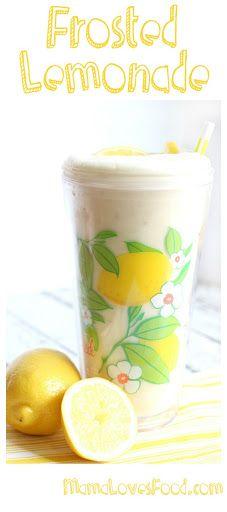Frosted Lemonade! Recipe on Yummly. @yummly #recipe