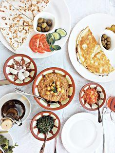 الفطور العربي - Arabic Breakfast