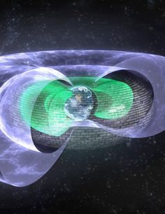 An invisible shield has been discovered some 7,200 miles above Earth that blocks so-called 'killer electrons,' which whip around the planet at near-light speed and have been known to threaten astronauts, fry satellites and degrade space systems during intense solar storms.