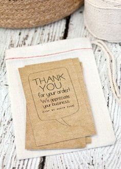 Instant business thank you cards editable pdf printable packaging customized thank you cards thanks for your order business cards shop cards reheart Images