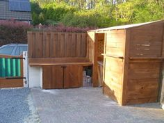 My Pallet Garden Shed