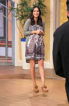Megan Fox on the set of Univision's 'Despierta America' in support of the film 'Teenage Mutant Ninja Turtles Out Of The Shadows at Univision Studios...