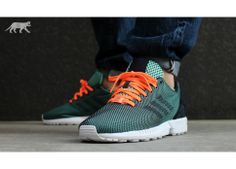 adidas Mens Pure Boost ZG Primeknit Neutral Running Shoes Base GreenCore BlackVivid Red