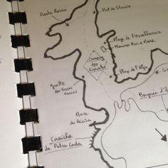 En avant-première, voici le brouillon de la carte des principaux lieux où se déroule « Le temps est assassin »... Certains sont réels, d'autres inventés... à vous de démêler le vrai du faux... #letempsestassassin #michelbussi #bussi #pressesdelacité #corse #roman #inspirationcorse #lecture #nouveauté #corsica #polar #idéelecture