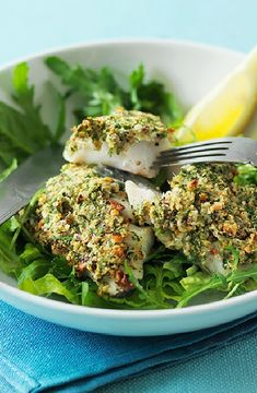 Low FODMAP and Gluten Free Recipe - Roast cod with a lemon and parsley crust Cod Recipes, Fodmap Recipes, Fish Recipes, Gluten Free Recipes, Dinner Recipes, Citrus Recipes, Fruit Recipes, Summer Recipes, Seafood Recipes