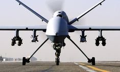 RAF Reaper drone.
