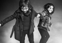 Are you going my way? - Burberry Childrenswears Fall 2012 Campaign is Unbelievably Cute