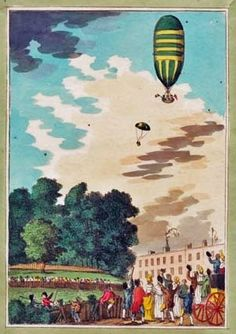 Regency Reader -- Regency Pastimes: The Great Parachute Experiment of 1802