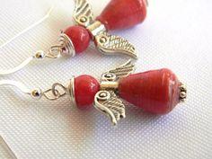 Paper Bead Earrings - Be an Angel - Nicaragua - 396 | BeadAmigas ...