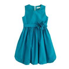 Girls' Collection silk taffeta Gillian dress - all dressed up - Girl's Girl_Special_Shops - J.Crew