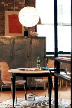 nice work space! via #DesignSponge what's in your toolbox: #NateBerkus Associates