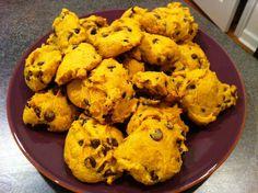 Eat Skinny Be Skinny: Pumpkin Chip Cookies | The Realistic NutritionistThe Realistic Nutritionist