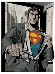 Superman says hold my glasses