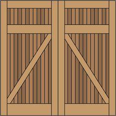 Garage Doors | Classic Z Brace without Windows