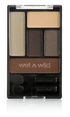 Wet n Wild Color Icon Eye Shadow Pallette Tunnel Vision - Wet n Wild Color Icon Eye Shadow Pallette Wet N Wild Eyeshadow, Brown Eyeshadow, Mac Eyeshadow, Eyeshadow Palette, Red Lip Makeup, Eye Makeup, Makeup Tips, Talc, Macadamia Oil