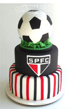 Birthday Present For Husband, Birthday Cake For Him, Birthday Surprise Boyfriend, Soccer Birthday, Birthday Gifts For Girlfriend, Birthday Love, Birthday Cupcakes, Friend Birthday, Bolo Sofia
