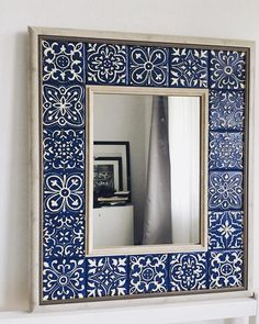 Indian Home Interior Diy Garden Decor, Diy Home Decor, Room Decor, Tile Crafts, Mosaic Diy, Interior Decorating, Interior Design, Interior Modern, Decorating Ideas