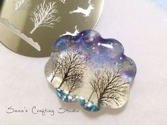 Image result for uv resin necklace