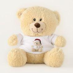 Teddy Bear Samta - holidays diy custom design cyo holiday family