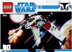 Star Wars Clone Wars - V-19 Torrent [Lego 7674]