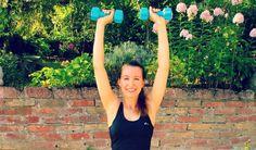 DoYourFitness Arm Workout - Fünf Übungen mit Hanteln