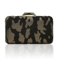 Espey Brocade Black/Gold rectangular clutch #rectangularclutch #minaudiere #galabag #KOTUR