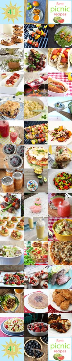41 Best Picnic Recipes from the Flavors of Summer Virtual Picnic
