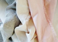 Linen Throw. 100% linen. 33 x 54. Multiple colors by Tudorville