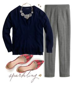 """Martie pants"" by villasba ❤ liked on Polyvore featuring J.Crew and Madewell"